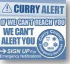 Curry Alert If We Can't Reach You, We Can't Alert You