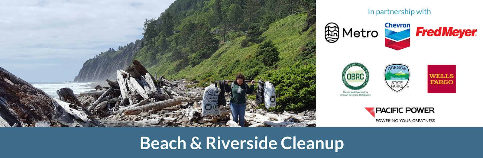 SOLVE Beach Clean up