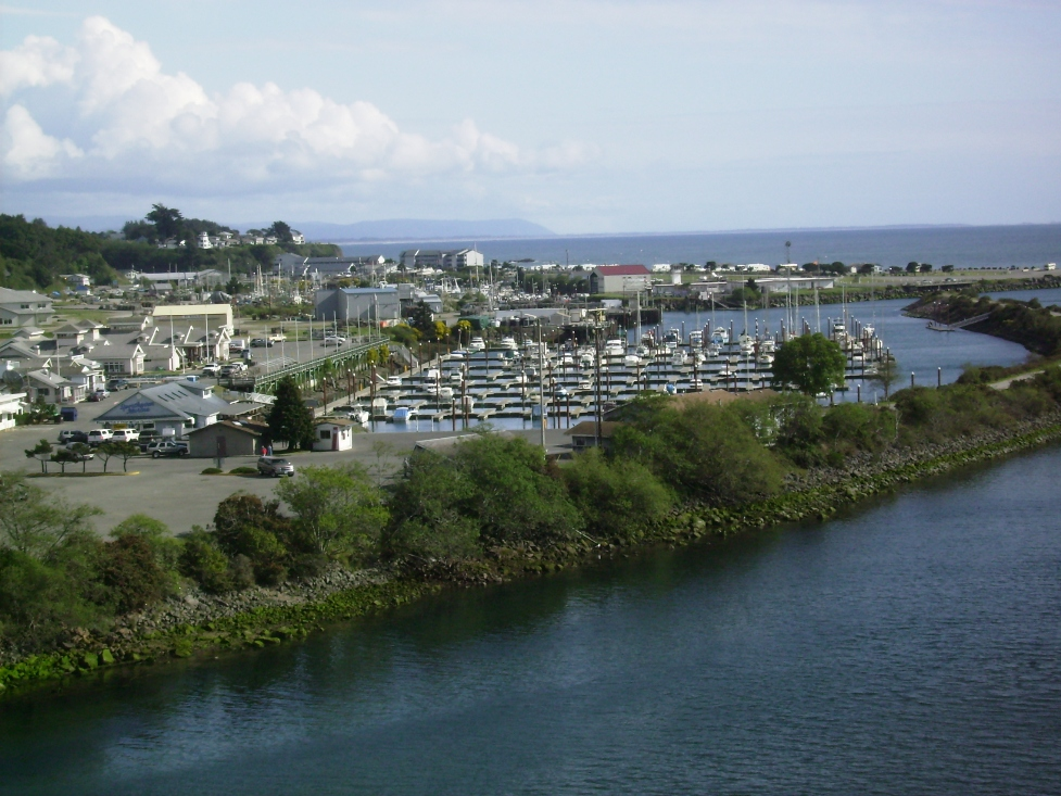 Photo of the Port from Chetco River Bride